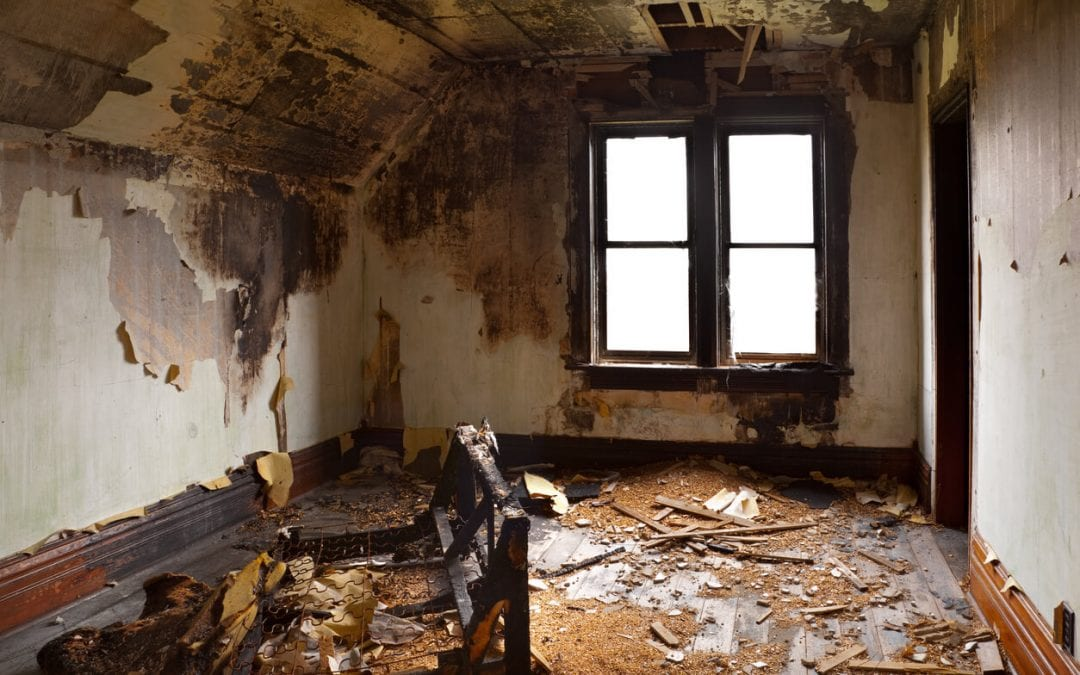 Get Back To Normality After A Fire With Professional Fire Damage Restoration Services.
